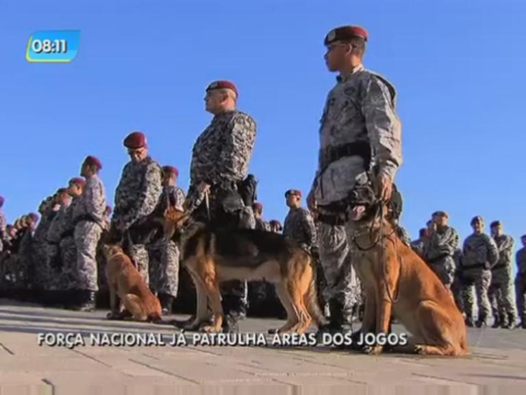 Força Nacional assume segurança de instalações dos Jogos Olímpicos