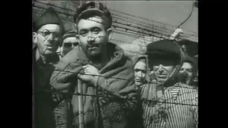 Sobrevivente do Holocausto registra em filme judeus no campo de ...