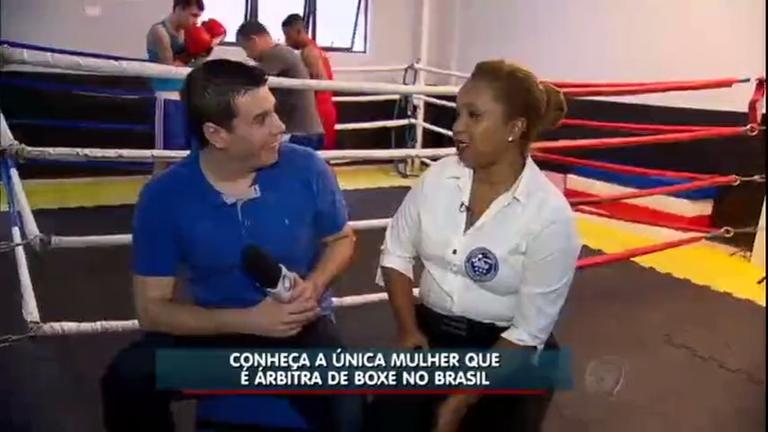 Árbitra de boxe encara os desafios da profissão e se torna a única ...