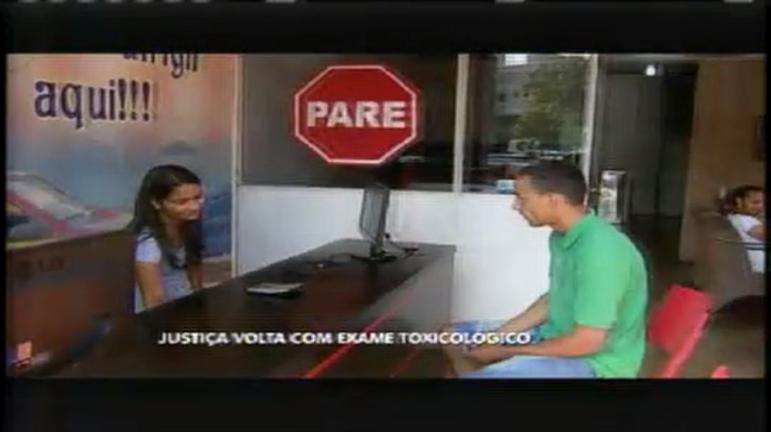 Detran volta a exigir exame toxicológico em Minas - Minas Gerais ...