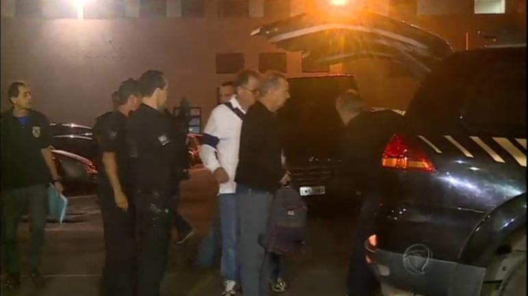 Carlinhos Cachoeira, Fernando Cavendish e outros três detidos ...