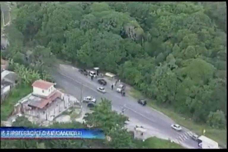Tiros e perseguição em Camaçari - Bahia - R7 Cidade Alerta BA