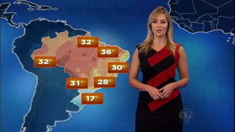 Previsão: tempo seco, madrugadas frias e tardes quentes em quase ...