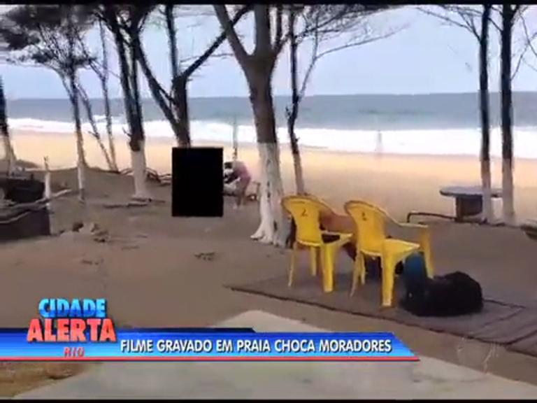 Gravação de filme pornô no Recreio gera indignação de cariocas ...