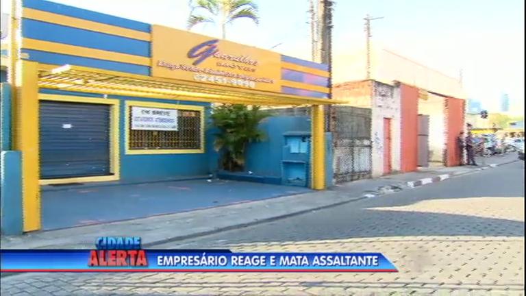 Dono de imobiliária reage a assalto e mata criminoso em Guarulhos ...