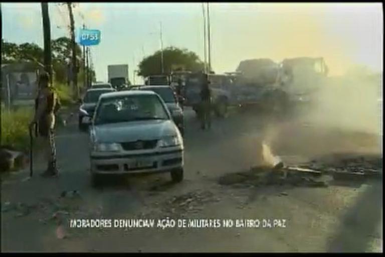 Moradores denunciam ação de militares no Bairro da Paz - Bahia ...