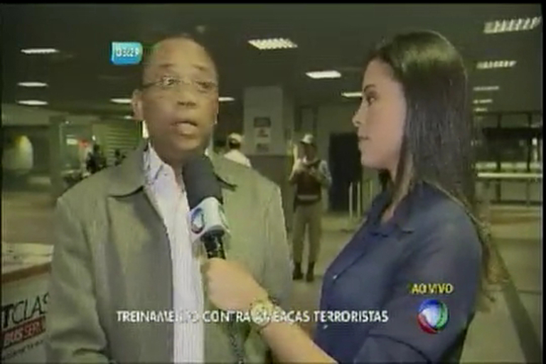 Olimpíadas: treinamento contra ameaças terroristas - Bahia - R7 ...