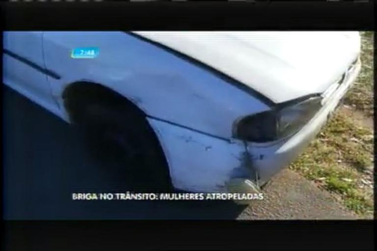 Briga de trânsito termina com duas mulheres atropeladas - Minas ...