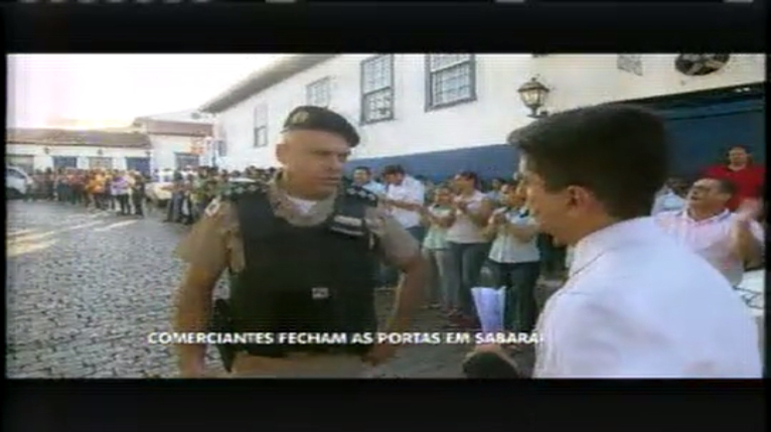 Comerciantes fecham as portas em Sabará em protesto contra ...