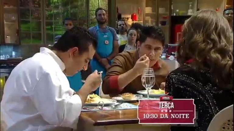 Para seguir no jogo, duplas precisam impressionar César Filho ...