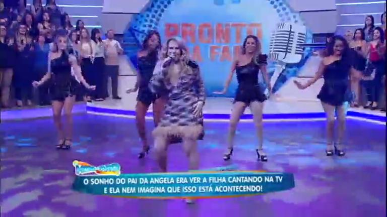 Pronto Pra Fama: Diva Angela Carlos quebra tudo no palco da Hora ...
