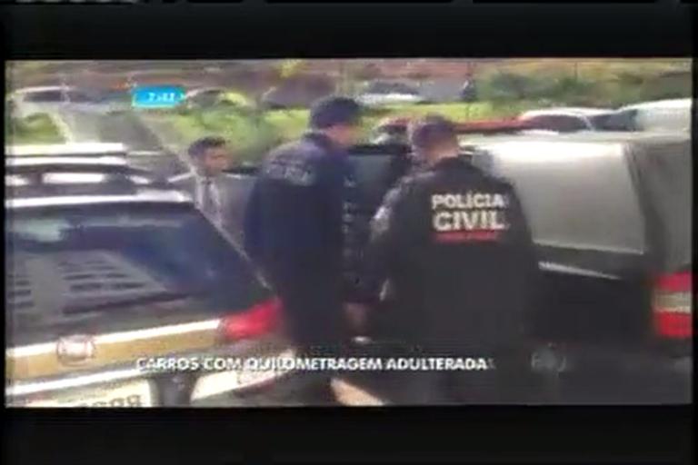 Polícia faz operação em concessionárias que alteram ...