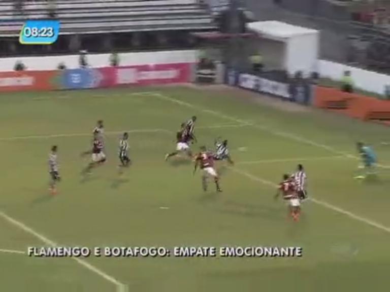 Flamengo e Botafogo empatam na inauguração de nova arena na ...
