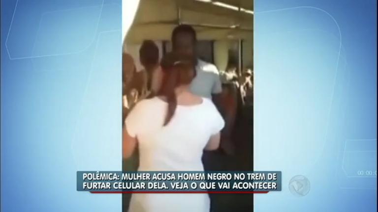Preconceito! Mulher acusa um haitiano por engano de ter roubado o ...