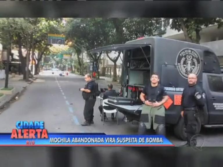 Mochila abandonada vira suspeita de bomba no Leblon - Rio de ...