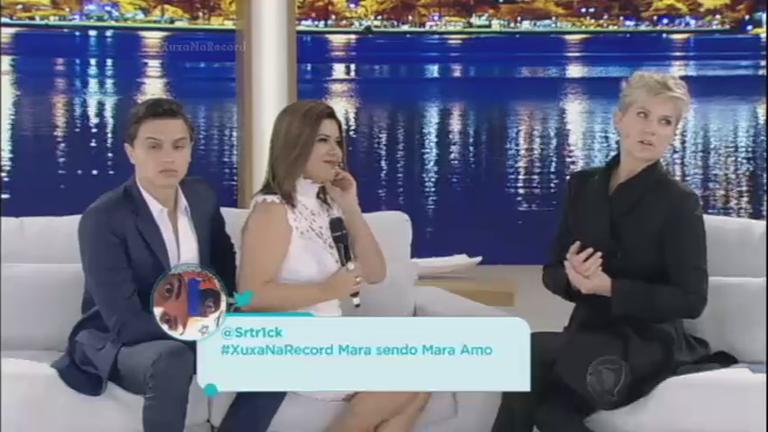 Xuxa explica por que batizou suas cachorras de Mara e Angélica ...