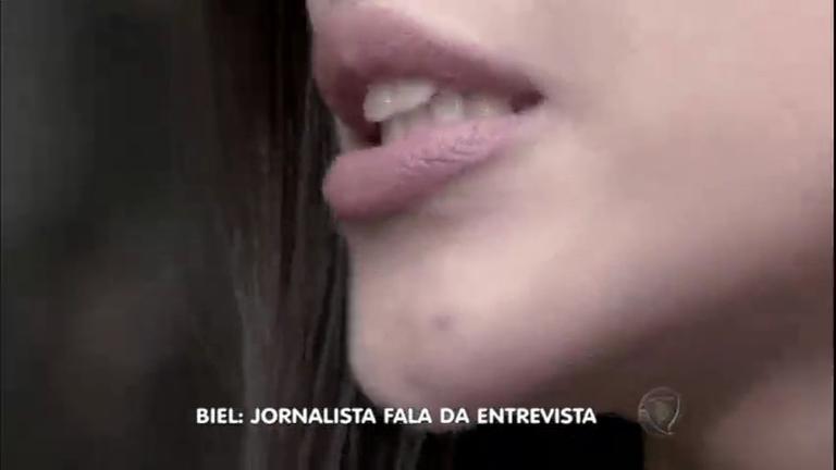 Exclusivo: jornalista que acusa Biel de assédio mostra o rosto e fala ...