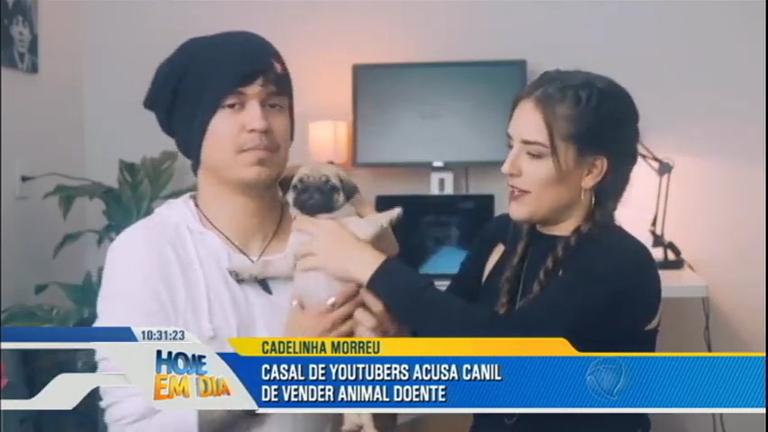 Após morte de cachorrinha, casal de youtubers acusa dona de canil ...