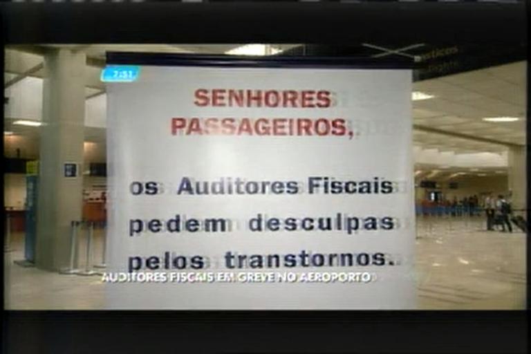 Auditores fiscais fazem paralisação no Aeroporto de Confins - Minas ...