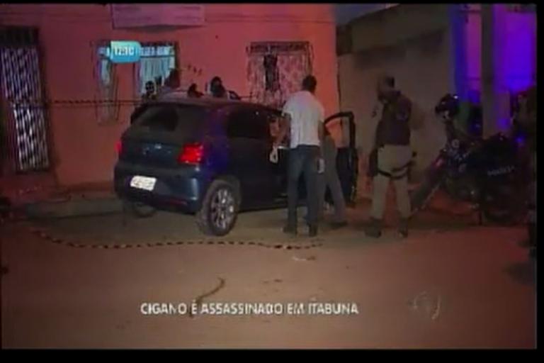 Cigano é assassinado em Itabuna - Bahia - R7 Balanço Geral BA