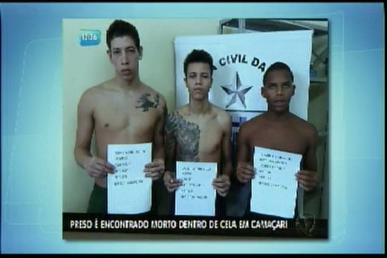 Preso é encontrado morto dentro de cela em Camaçari - Bahia - R7 ...
