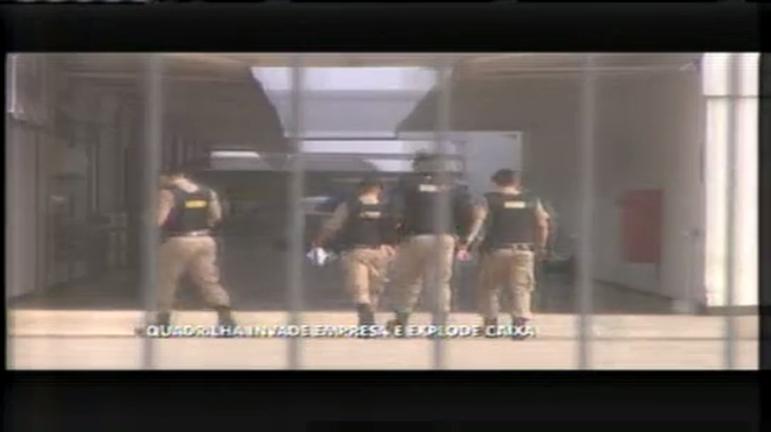 Bando explode caixas eletrônicos na Grande BH - Minas Gerais ...