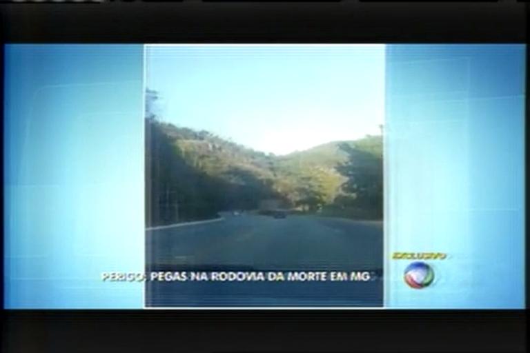 Motoristas fazem pega na BR-381 - Minas Gerais - R7 Balanço ...