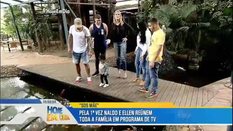 SOS Mãe: Ana Hickmann visita a família do cantor Naldo Benny em ...