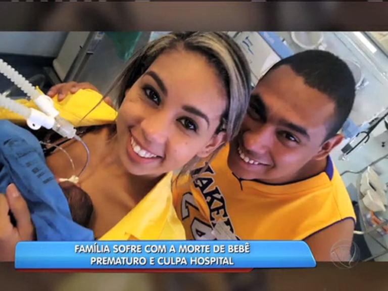 Família culpa hospital por morte de bebê prematuro - Rio de Janeiro ...