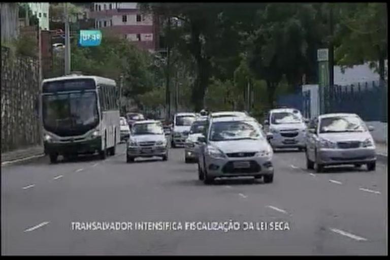 Transalvador intensifica fiscalização da Lei Seca - Bahia - R7 Bahia ...