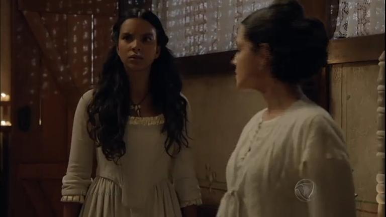 Juliana salva Maria Isabel de ataque de Almeida e oferece ajuda ...