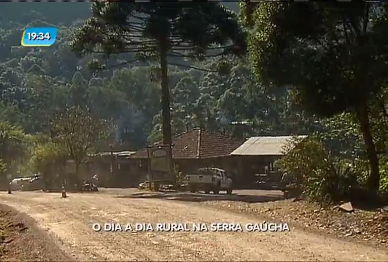 O dia a dia rural na serra gaúcha