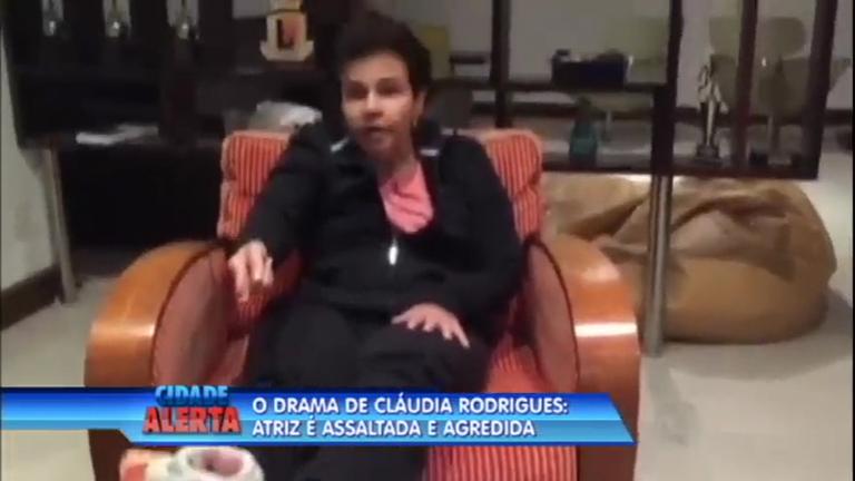 Atriz Claudia Rodrigues é assaltada e agredida em Curitiba (PR ...