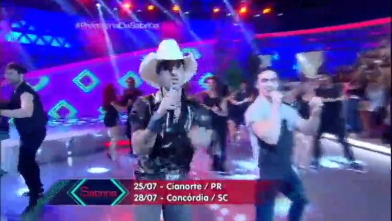 Pedro Paulo e Alex animam a plateia com sucesso Meu Corpo dá ...
