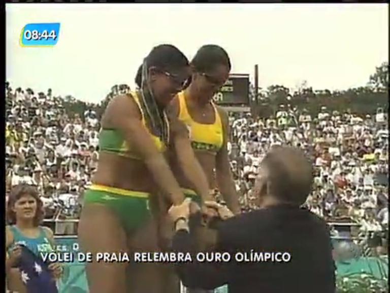 Atletas comemoram 20 anos pela conquista do ouro olímpico no ...