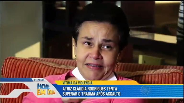 Cláudia Rodrigues diz como fez para salvar a vida da filha em ...