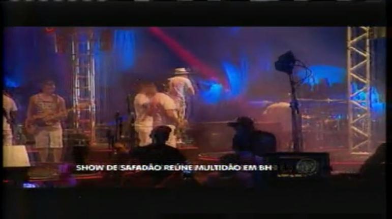 Wesley Safadão agita multidão de fãs em BH - Minas Gerais - R7 ...