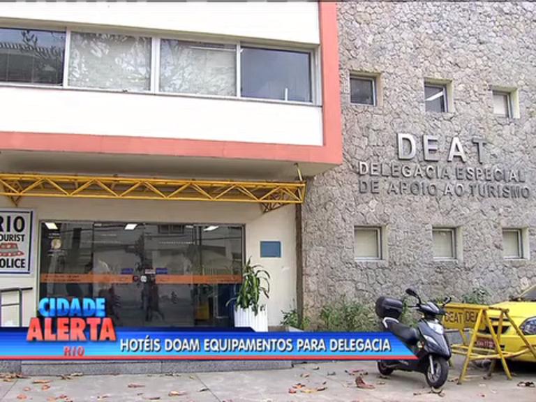 Hotéis doam equipamentos para Delegacia Especial de Apoio ao ...