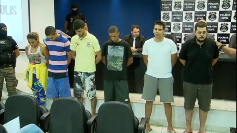 Quadrilha de roubo a caixas eletrônicos é presa em Goiás - Notícias ...