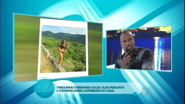 Thiaguinho revela que não sente ciúme das fotos da esposa nas ...