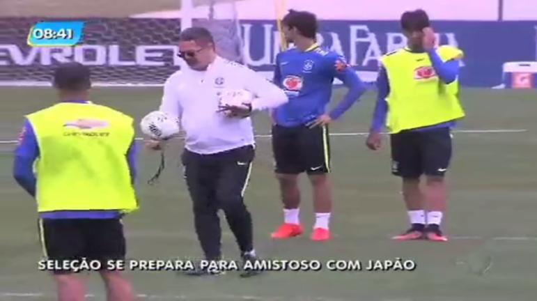 Rio 2016: seleção olímpica se prepara para amistoso contra o Japão