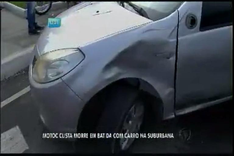 Motociclista morre em acidente na avenida Suburbana - Bahia - R7 ...