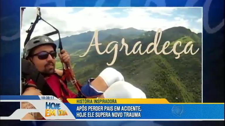Superação: jovem que perdeu a família e teve as pernas amputadas ...