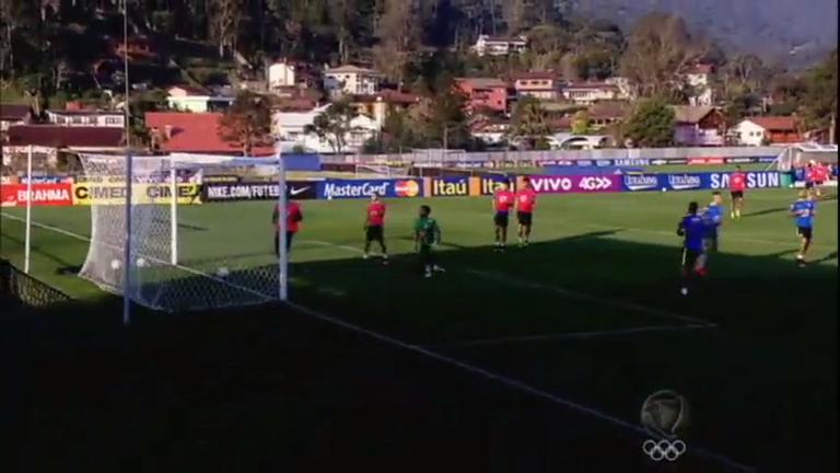 Rio 2016: seleção masculina de futebol se desdepe de Teresópolis ...