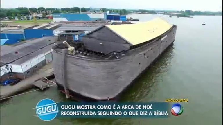Construída por pai e filho, réplica da Arca de Noé em tamanho real ...