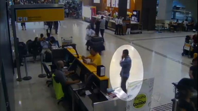 Ladrões são flagrados furtando passageiros no Aeroporto ...