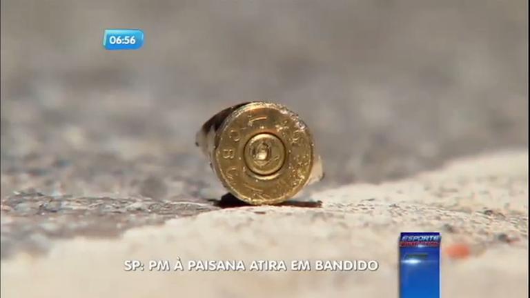 Policial à paisana atira em bandido durante assalto em ponto de ...