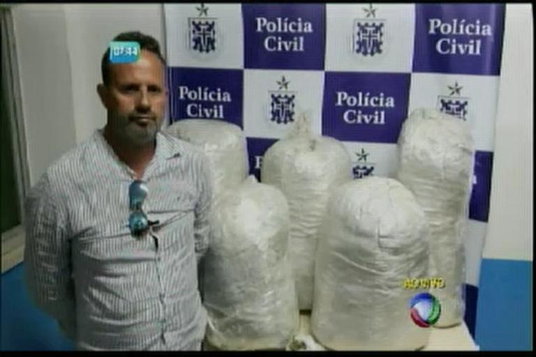 Homem é preso com 60kg de maconha em Feira de Santana ...
