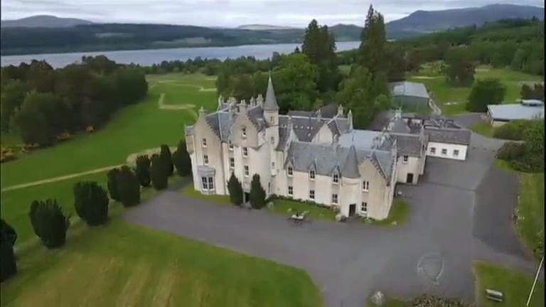 50 por 1 visita castelo de bilionário na Escócia - Notícias - R7 ...