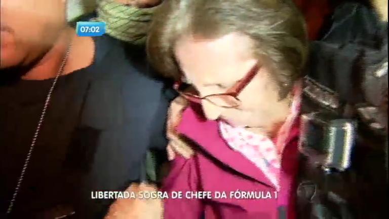 Após nove dias de sequestro, sogra de chefão da Fórmula 1 é ...